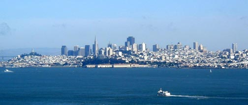 View of San Francisco from Marin